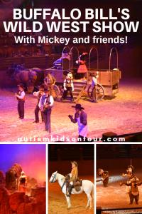 Buffalo Bill's Wild West Show with Mickey and friends, Disneyland Paris