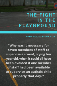 The avoidable fight in the playground