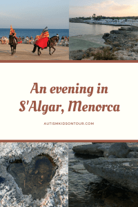 Our evening in S'Algar, Menorca