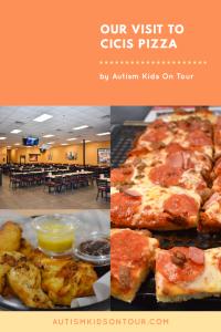 Our visit to CiCis Pizza, International Drive, Orlando, Florida