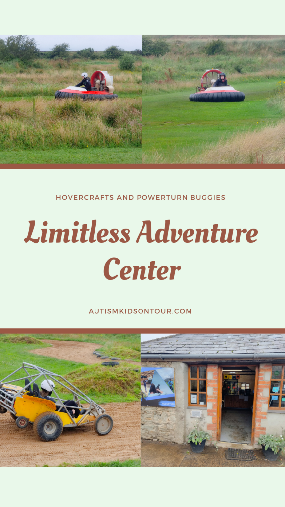 Hover crafts and powerturn buggies at limitless adventure center