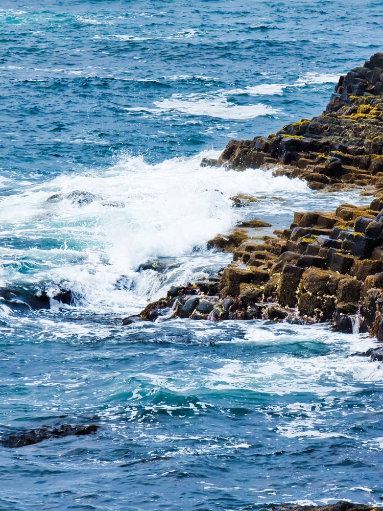 The Giants Causeway in northern Ireland