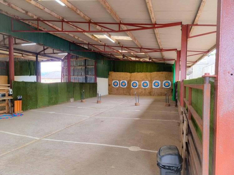 Archery  at limitless adventure center, Northern Ireland