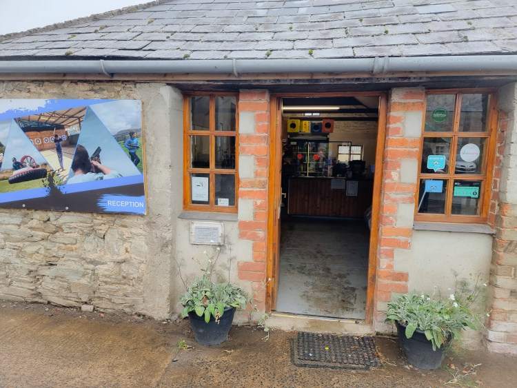 Reception at limitless adventure center, Northern Ireland