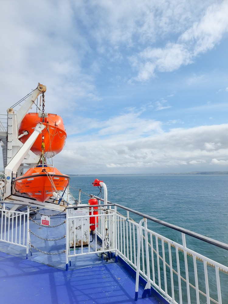 View from P&O ferry crossing from Vairnryan to Larne