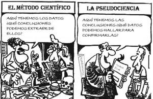 pseudociencia vs ciencia