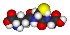 Modelo 3D del glutatión