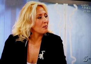 Ana Belen Salas durante su intervención en el programa