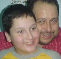 Fco. Javier Garza  y su hijo Javiercito