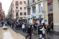 Manifestación en la ciudad de Valencia