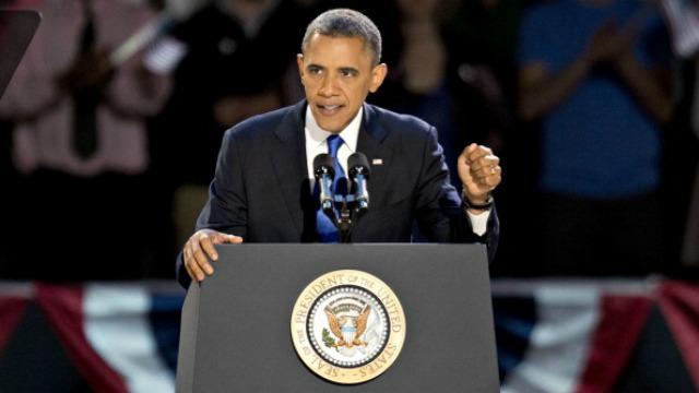 El presidente de los EE.UU. Barack Obama