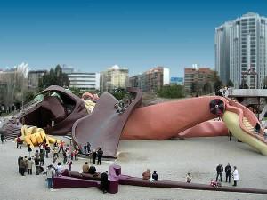El parque Gulliver de Valencia