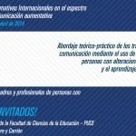 Jornadas Formativas Internacionales en el Espectro del Autismo y Comunicación Aumentativa en Ecuador