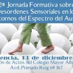 2ª Jornada formativa sobre desordenes sensoriales en los Trastornos del Espectro del Autismo
