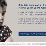 Campaña MIRAME para la detección temprana del autismo en Argentina.