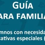 Guía para familias Catalanas con hijos con Necesidades Educativas Especiales