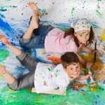 Taller de arte para niños con autismo en Tenerife