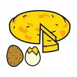 Pictograma de ARASAACde tortilla española