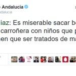La (Des)Atención Temprana y la soberbia de Susana Díaz