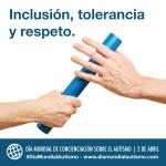 Manifiesto del movimiento asociativo de Autismo Castilla y León con motivo del Día Mundial de Concienciación sobre el Autismo