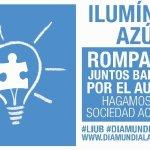 Más de 235 edificios de toda España se tiñen de azul en solidaridad con el autismo