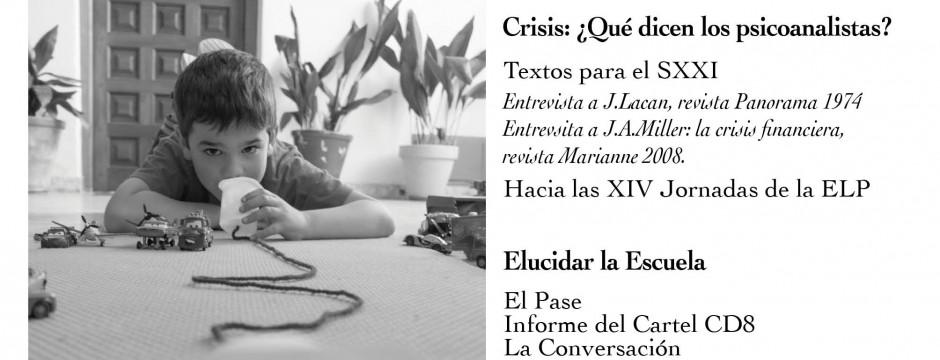 """Portada de """"El Psicoanálisis"""" núm 27. Revista de la Escuela Lacaniana de Psicoanálisis."""