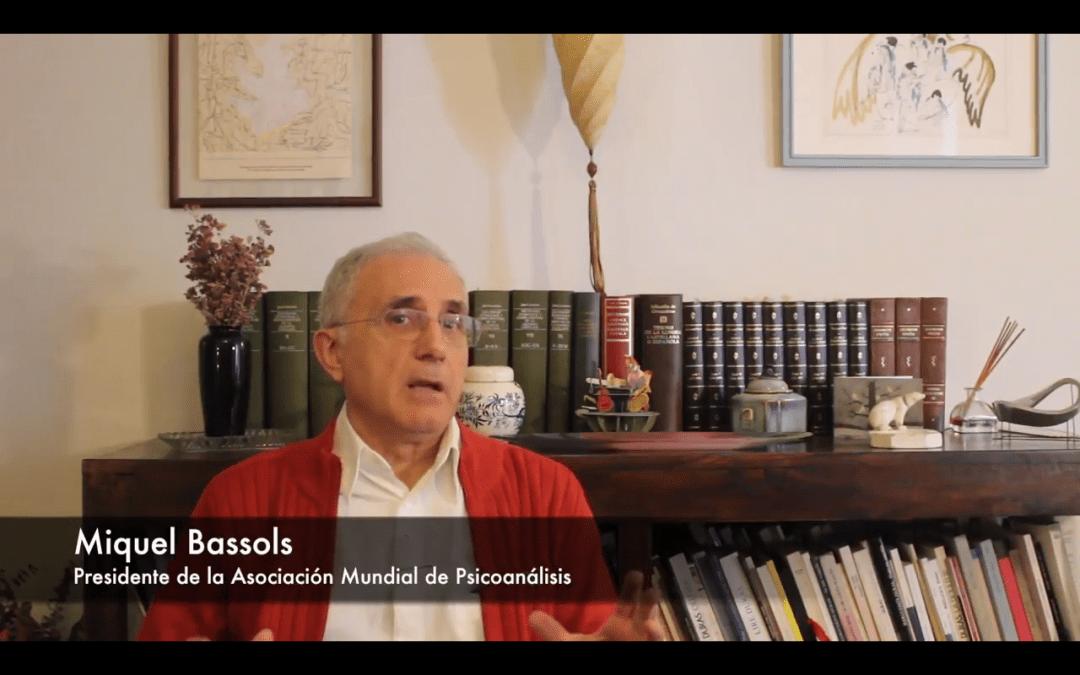 Miquel Bassols sobre el Foro Internacional. Vídeo Entrevista