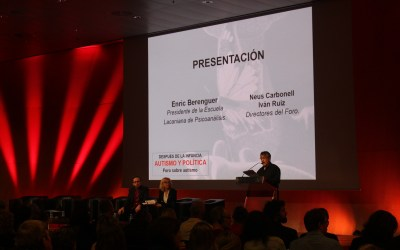 Apertura del Foro Internacional Autismo. Por Enric Berenguer