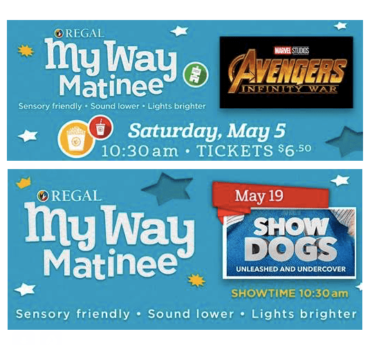 Sensory Friendly Movie Showings Autism Society Of Oregon