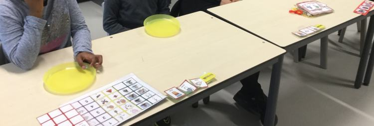 autism table visual supports