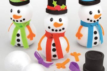 build snow people asd teacher