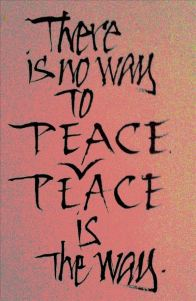 peace only peace