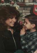 me/son last Christmas picture together b4 my daughter