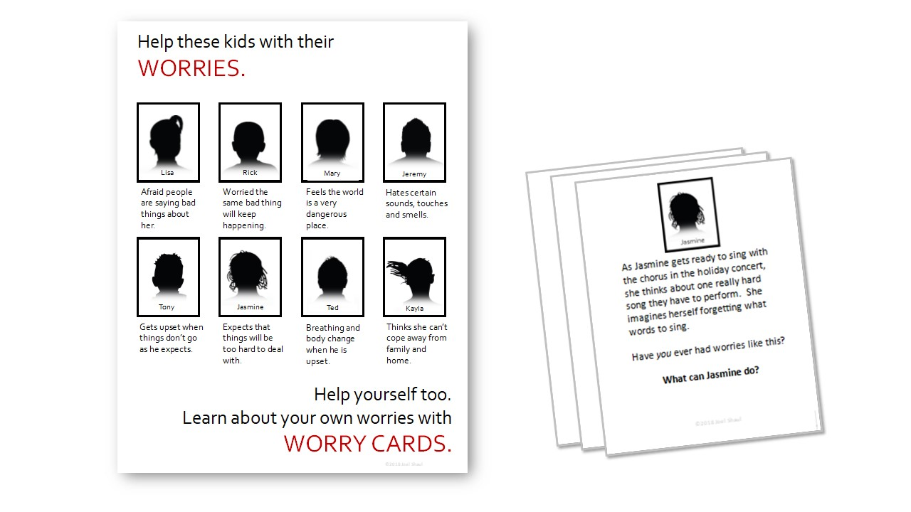 """Worry cards"""
