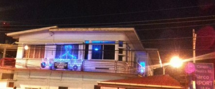 2017 Blue lights at St. Helena Junction Piarco
