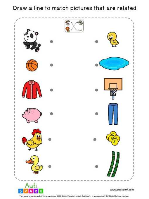 Match Related Worksheets 9
