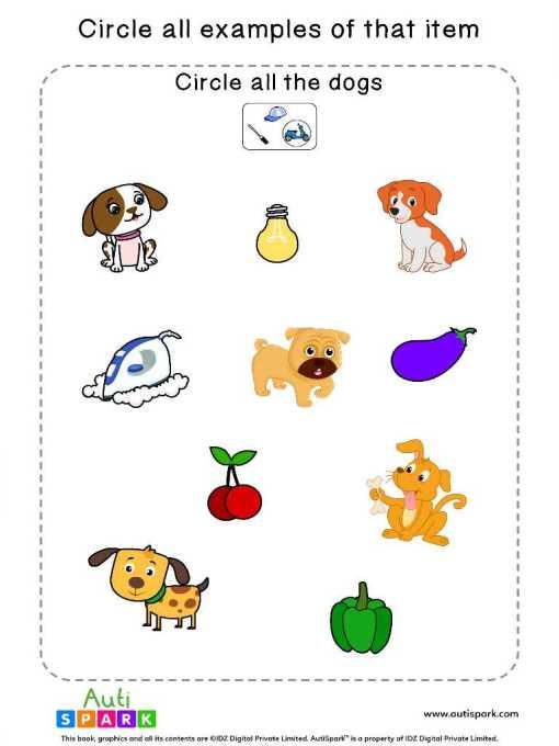 Circle The Animals 1