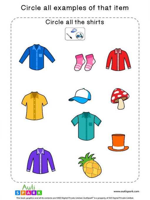 Circle The Clothes 4