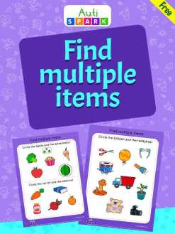 Free Object Sorting Workbook - Circle Multiple Items : 1
