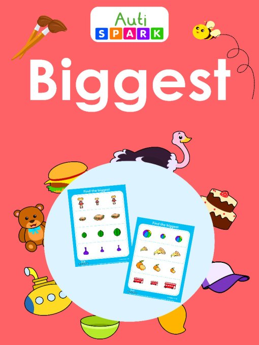 Find The Objects By Size - Fun Activity Workbook : 1