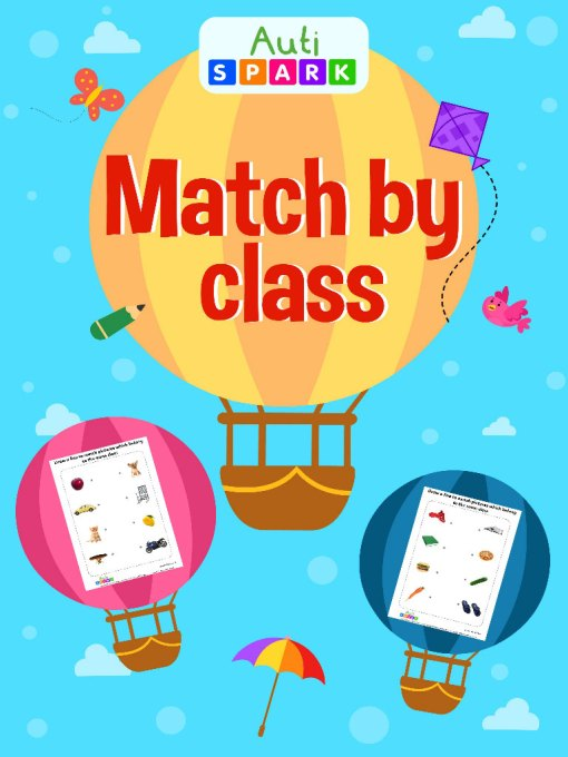 Match By Class – Matching Workbook