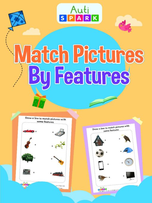 Match Pictures By Feature – Matching Workbook