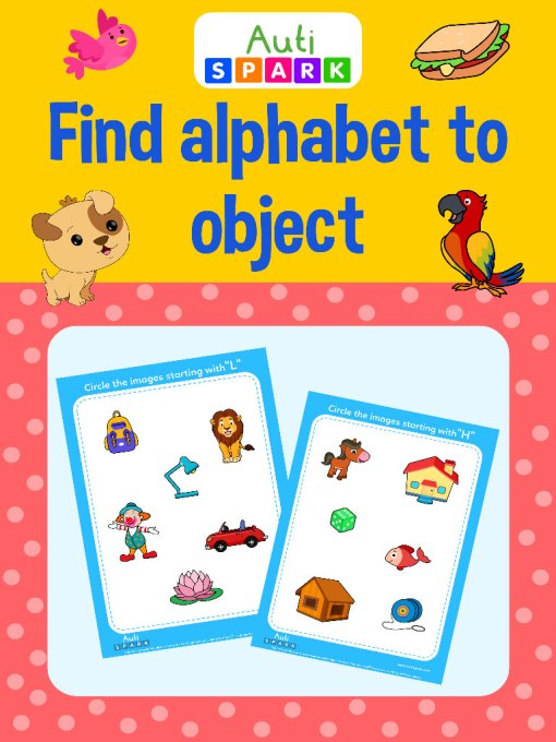 26 Find alphabet to object