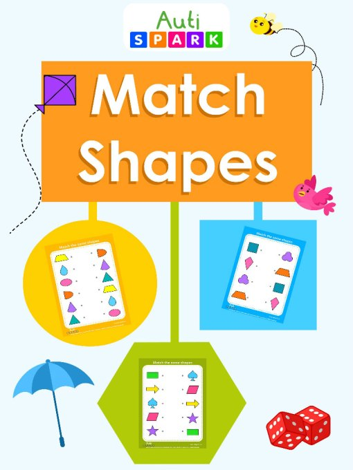 80 Shapes matching