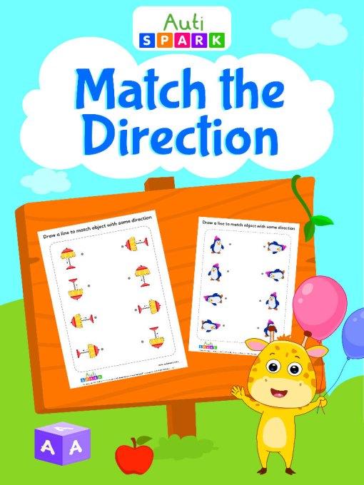Match The Same Direction Matching Workbook
