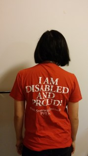 Pennsylvania Youth Leadership Network Disabled & Proud shirt back