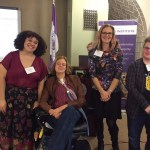 Presenters at our workshop at Chatham's Gender Equity Summit