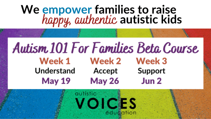 Autism 101 For Families Class Autism Help and Support