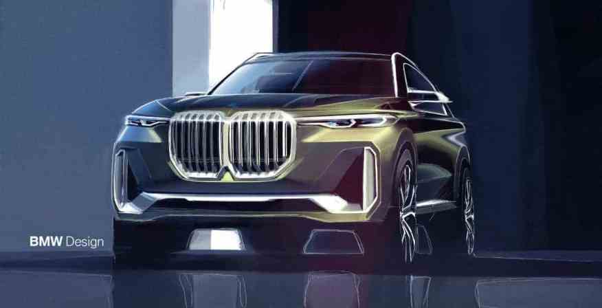 LUXURY SUV CONCEPT BMW X7