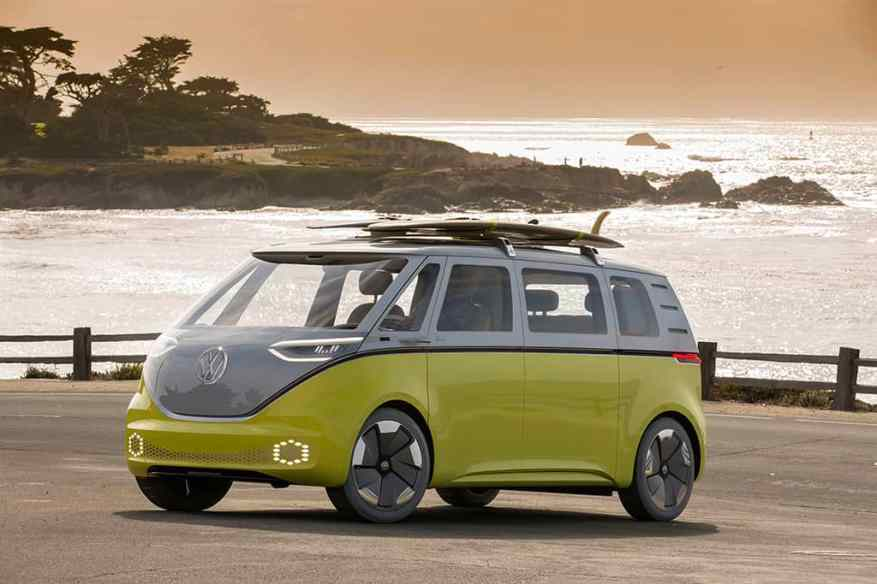ELECTRIC VEHICLE VW I.D. BUZZ